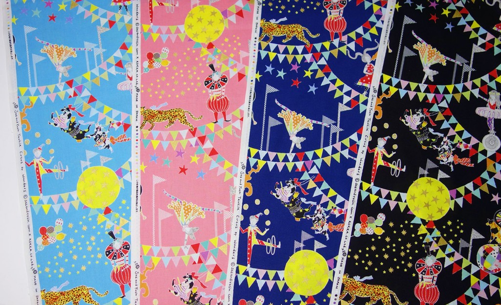 SasandYosh-KOKKA-Circus of Wonders-textile- All colours