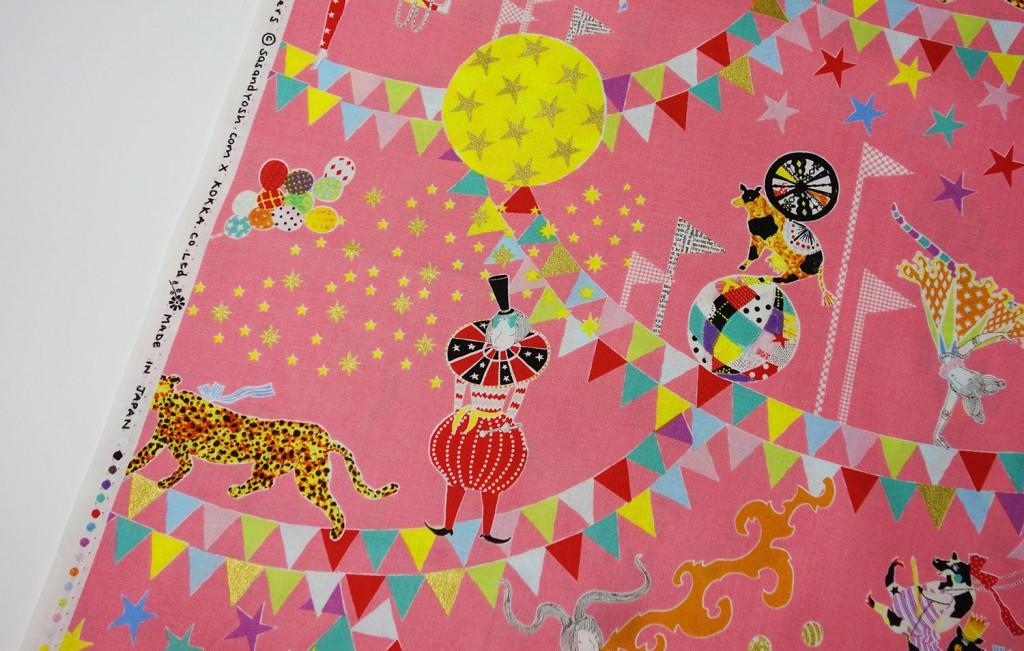 SasandYosh-KOKKA-Circus of Wonders-Pink 1