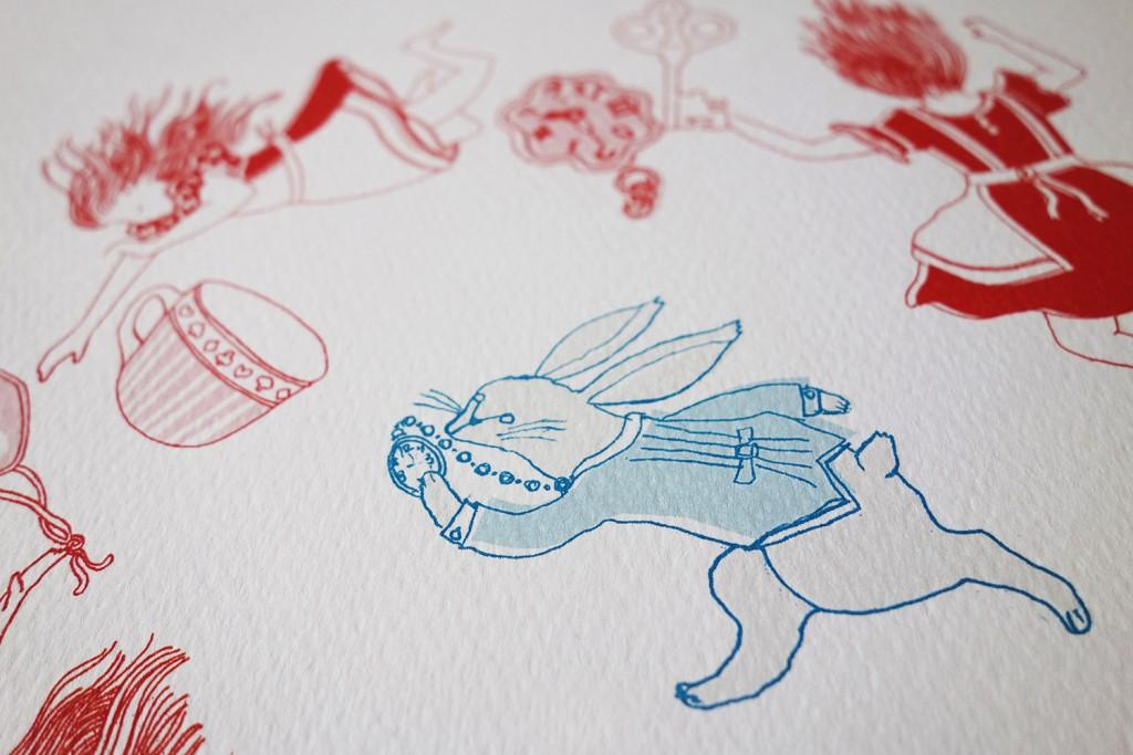 Down The Rabbit Hole-ArtPrint-SasandYosh 2