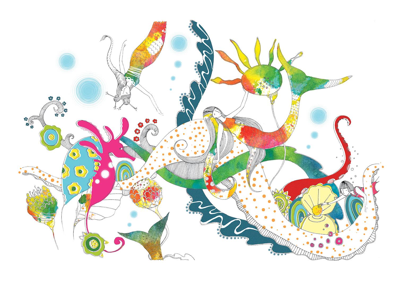 Diving in Mermaid Lagoon - SasandYosh 1