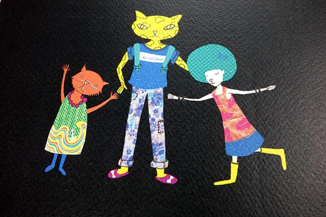 SasandYosh-ArtPrint-Cool Cats Stick Together-3