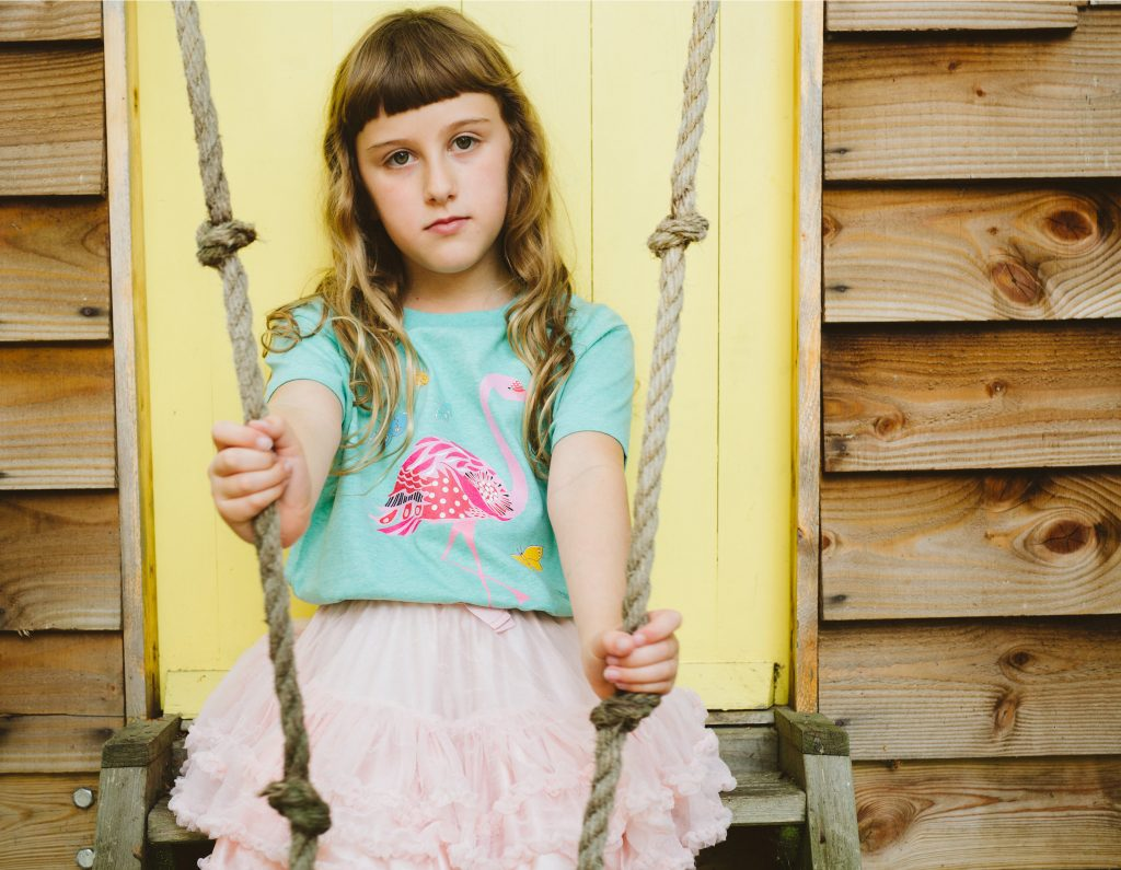 SaY-Flamingo-unisex kidsT