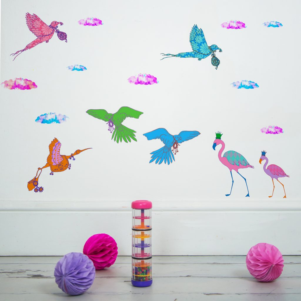 SasandYosh-wallsticker-FlyingJourney-1