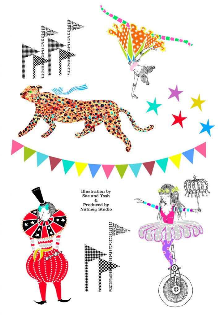 SasandYosh-wallsticker-Circus of Wonders-sheet1